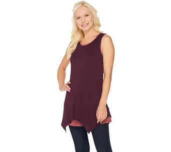 LOGO Layers by Lori Goldstein Set of Two Knit Tanks - A283109