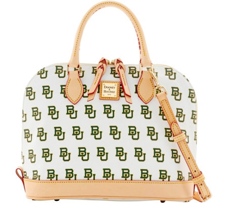 Dooney & Bourke NCAA Baylor University Zip Zip Satchel