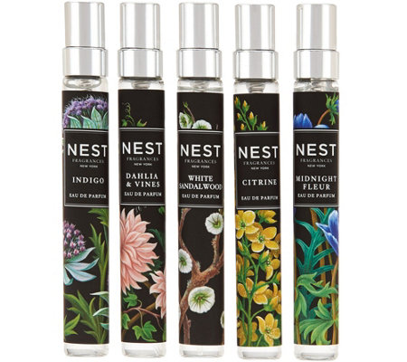NEST Fragrances 5-piece Eau de Parfum Sprays