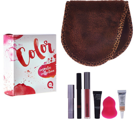 QVC Beauty Color Cosmetics 7-piece Discovery Kit