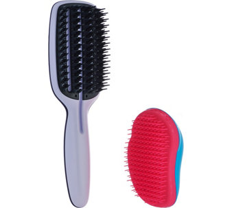 Tangle Teezer Original Brush with Blow Styling Half Paddle Brush - A284409