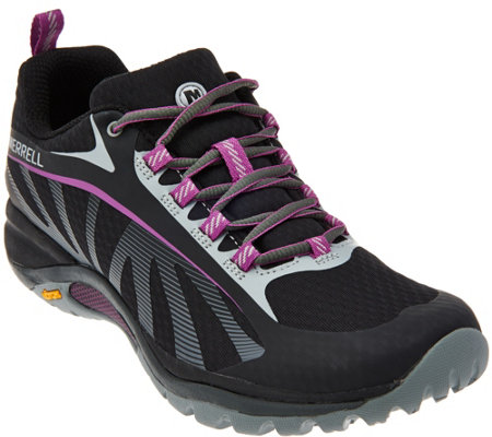 Merrell Mesh Lace-up Sneakers - Siren Edge