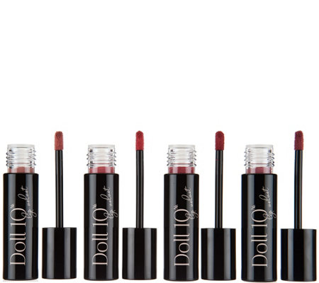 Doll 10 Lip Velvet 4-piece Collection