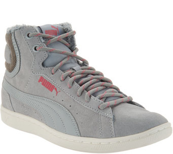 PUMA Hightop Sneakers - Vikky Mid Corduroy - A294109