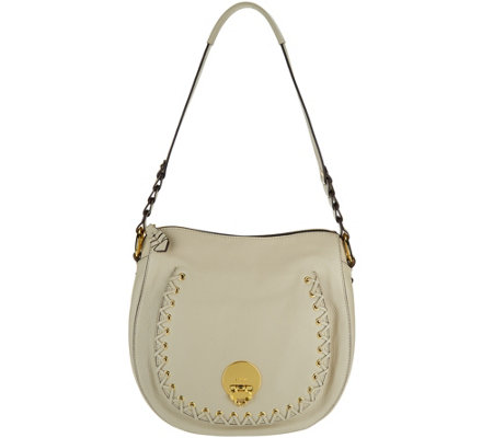 """As Is"" orYANY Pebble Leather Shoulder Bag - Janessa"