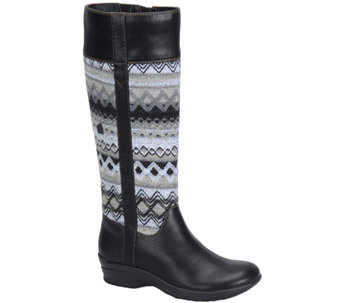 Softspots Tall Riding Boots with Knit Accents -Jersey - A334509