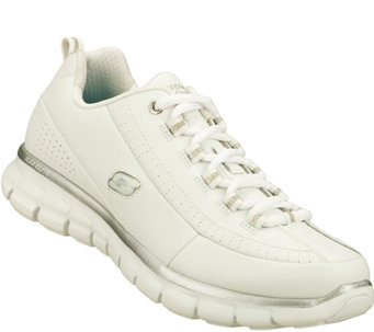 Skechers Lace-up Athletic Sneakers - Synergy -Elite Status - A335309