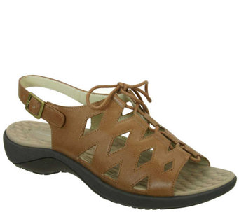 David Tate Cut Out Sandals - Dallas - A336909