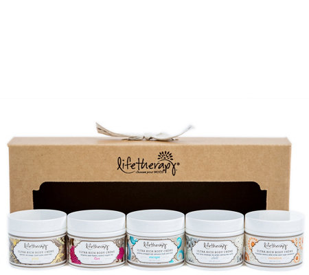 Lifetherapy Mini Ultra Rich Body Creme Gift Set