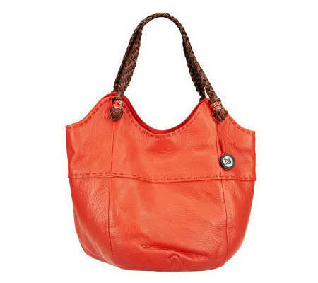 The Sak Leather Indio Large Tote