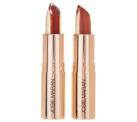 Josie Maran Argan 3-in-1 Core Color Hydrating Lipstick Duo
