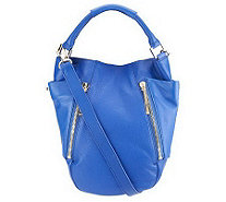 Kelsi Dagger Ayden Pebble Leather Convertible Hobo Bag - A232810