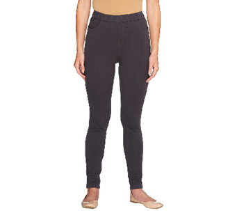 "Denim & Co. ""How Comfy"" Regular Pull-on Leggings - A256810"