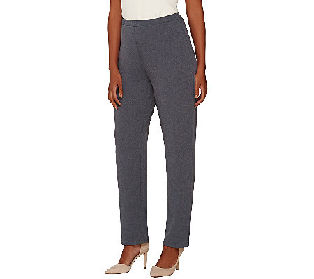 Susan Graver Passport Comfort Waist Pull-On Pants