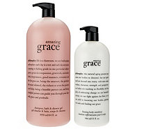 philosophy amazing grace mega-size shower gel & lotion duo - A275710