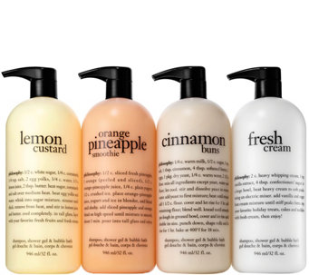 philosophy 4-piece super-size shower gel Auto-Delivery - A285410