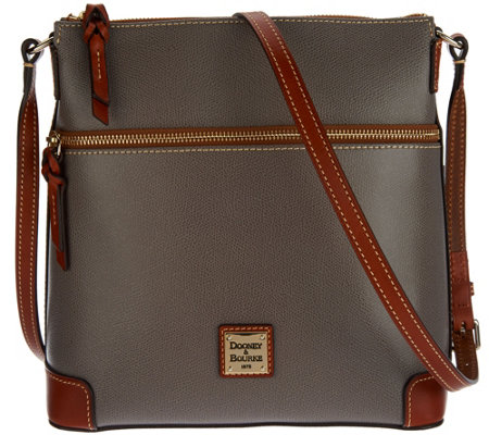 Dooney & Bourke Claremont Leather Crossbody Handbag