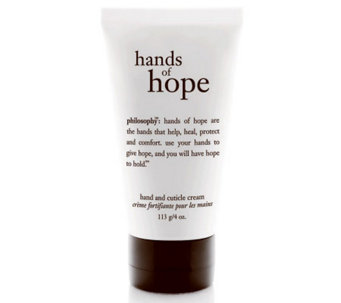 philosophy deluxe hands of hope hand and cuticle cream, 4oz - A315010