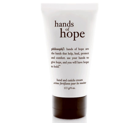 philosophy deluxe hands of hope hand and cuticle cream, 4oz