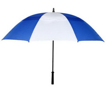 Leighton Vented Golf Umbrella with Rubberized Handle - A315610