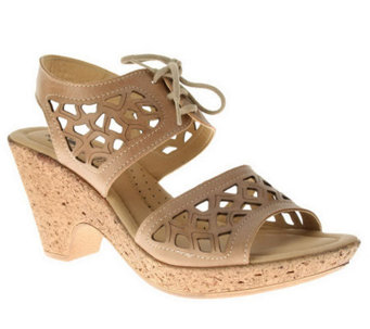 Spring Step Style Lamay Leather Quarter Strap Sandals - A323310