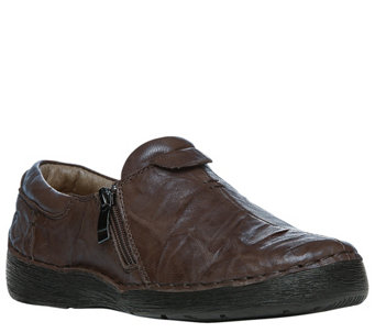 Propet Leather Slip-on Shoes - Dagny - A356210
