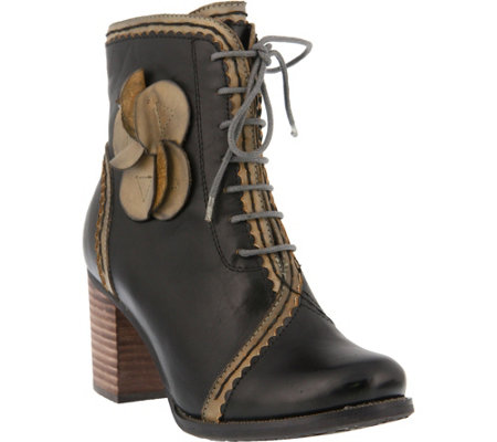 L'Artiste by Spring Step Leather Boots - Chrisanne