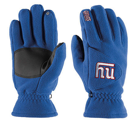 NFL New York Giants Winter Gloves — QVC.com