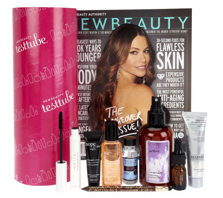 New Beauty 8-Piece Test Tube with Magazine