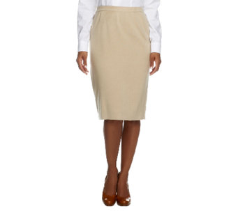 Linea by Louis Dell'Olio Whisper Knit Pull-On Skirt - A253411
