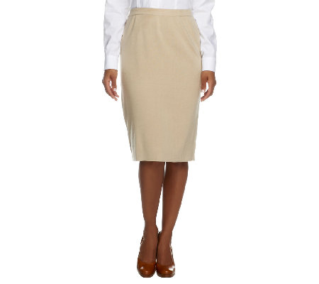Linea by Louis Dell'Olio Whisper Knit Pull-On Skirt