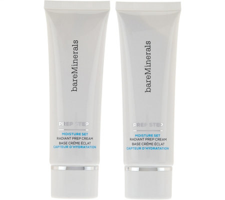 bareMinerals Prep Step Moisture Set Radiant Prep Cream Duo