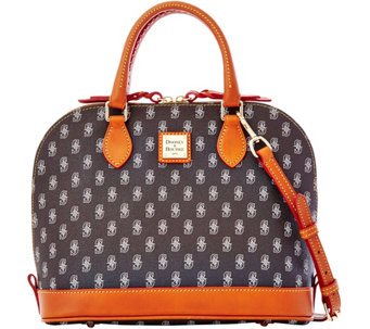 Dooney & Bourke MLB Mariners Zip Zip Satchel - A280111