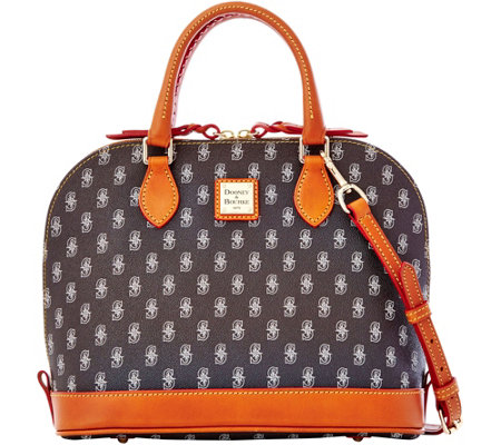 Dooney & Bourke MLB Mariners Zip Zip Satchel