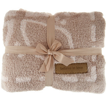 Barefoot Dreams Cozychic Covered in Prayer Throw Blanket - A280211