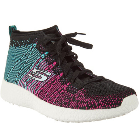 Skechers Abstract Flat Knit Sneakers - Sweet Symphony