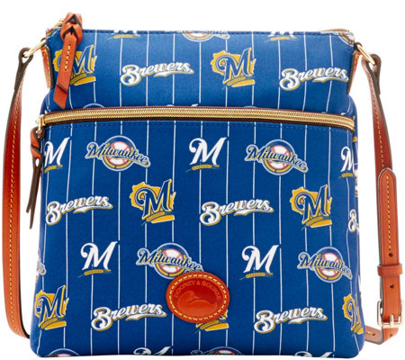 Dooney & Bourke MLB Nylon Brewers Crossbody