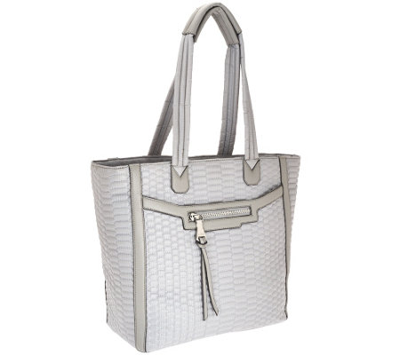 """As Is"" Aimee Kestenberg Nylon Quilted Tote - Jasame"