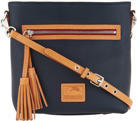 Dooney & Bourke Pebble Leather Crossbody Handbag - Lani