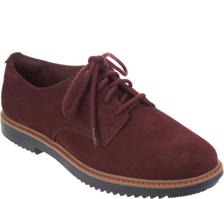 Clarks Leather Lace-up Shoes - Raisie Bloom