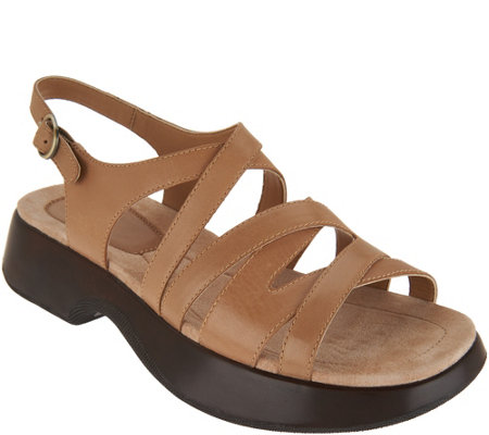Dankso Leather Multi-Strap Sandals - Lolita