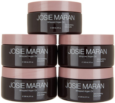 Josie Maran Whipped Argan Body Butters 5-pc Mega Set