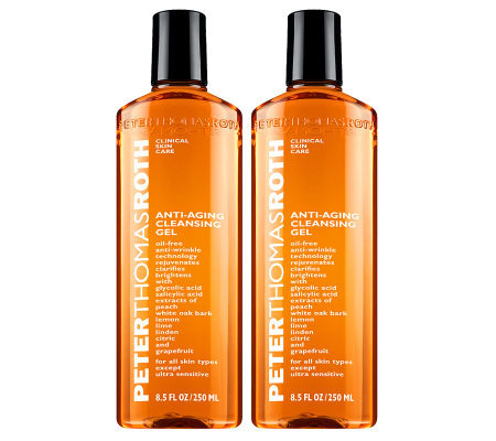 Peter Thomas Roth Anti-Aging Cleansing Gel Duo,8.5 oz