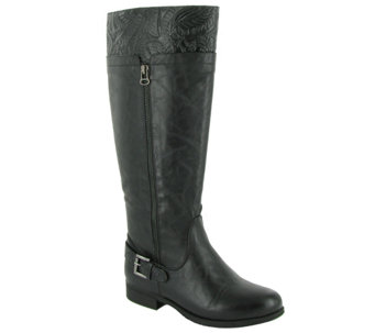 Easy Street Choice of Med & Wide Calf TallBoots - Burke - A336511