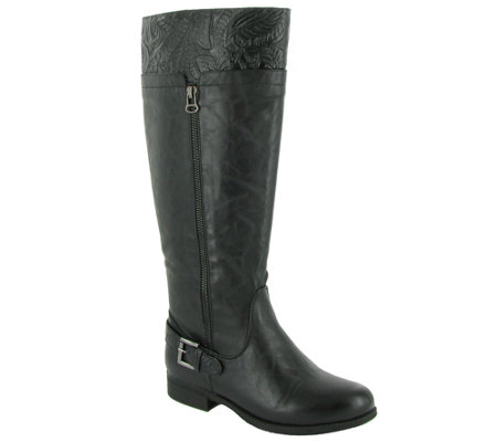Easy Street Choice of Med & Wide Calf TallBoots - Burke