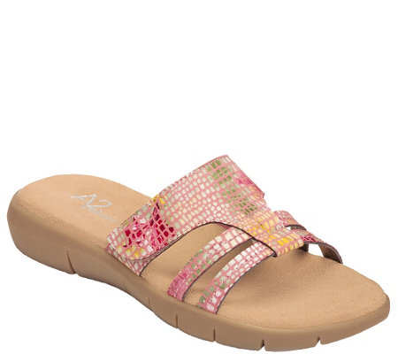 A2 by Aerosoles Slide Sandals - Serenwipity