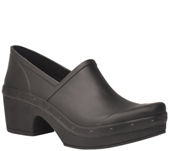 Dansko Closed Back Rubber Clogs - Richelle - A340911
