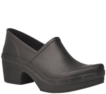 Dansko Closed Back Rubber Clogs - Richelle