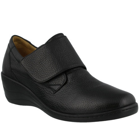 Spring Step Slip-on Leather Shoes - Corvo