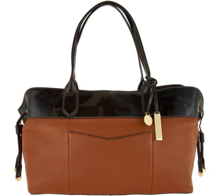 """As Is"" G.I.L.I. Leather Slouchy Shopper"